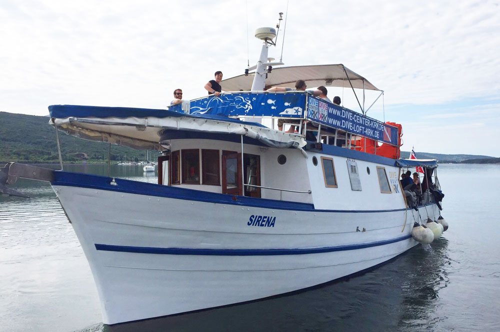 SIRENA | Full day | DIVE CENTER KRK