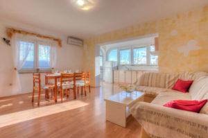 Ferienhaus Izidor in Kornic auf der Insel Krk in Kroatien