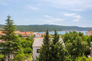 Ferienhaus Tamara mit Meerblick im Ort Kornic